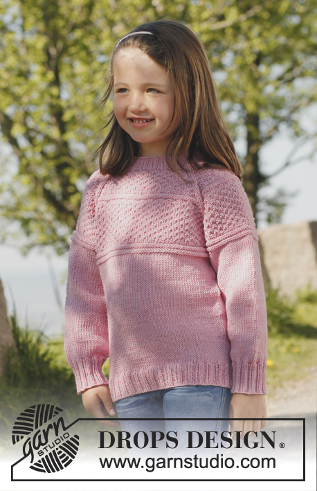 154ce8f4 Paulina / DROPS Children 23-7 - Free knitting patterns by DROPS Design