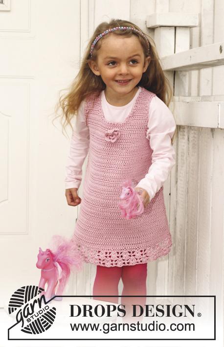 Candy Rose / DROPS Children 24-29 - Kostenlose Häkelanleitungen von ...