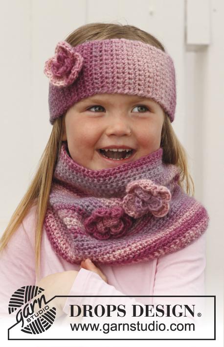 Pink Parfait / DROPS Children 24-40 - Patrones de ganchillo ...