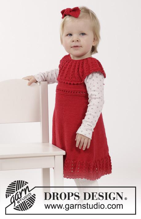 97c24a234a4e Little Hedda   DROPS Children 26-14 - Gratis strikkeopskrifter fra ...