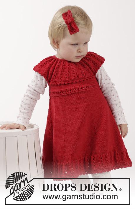 1ce76de2a Little Hedda / DROPS Children 26-14 - Free knitting patterns by DROPS Design