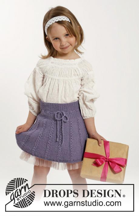 e5751747 Blushing Blue / DROPS Children 26-8 - Gratis strikkeoppskrifter fra ...