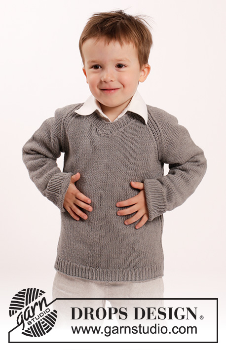 Funny Phil / DROPS Children 26-9 - Patrones de punto gratuitos por ...