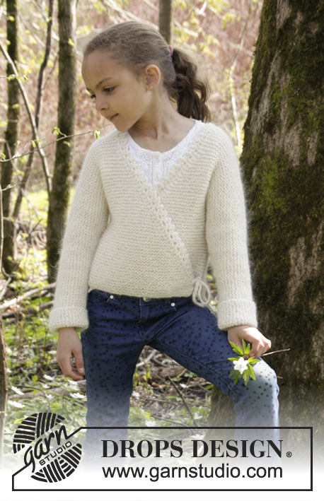 Titania / DROPS Children 27-13 - Free knitting patterns by