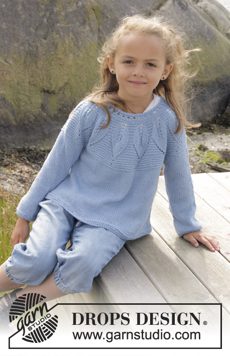 df1bf3e91 Sweet Bay   DROPS Children 27-23 - Free knitting patterns by DROPS ...