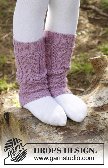 Raspberry Cream / DROPS Children 27-29 - Free knitting patterns by DROPS Design