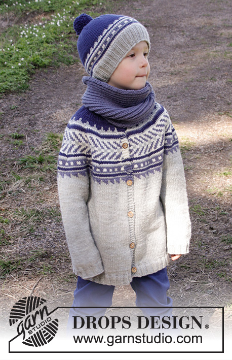 ccf509a95 Little Adventure Jacket   DROPS Children 27-31 - Free knitting ...
