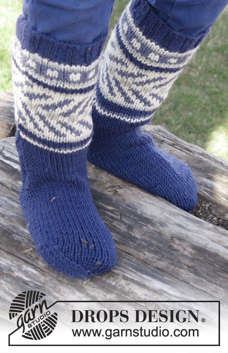 Little Adventure Socks Drops Children 27 34 Free Knitting