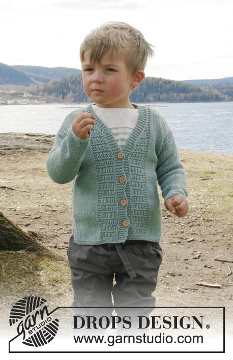 Adrien Drops Children 28 4 Free Knitting Patterns By Drops Design