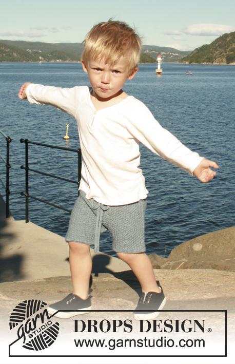 Bay Shorts / DROPS Children 28-5 - Patrones de punto gratuitos por ...
