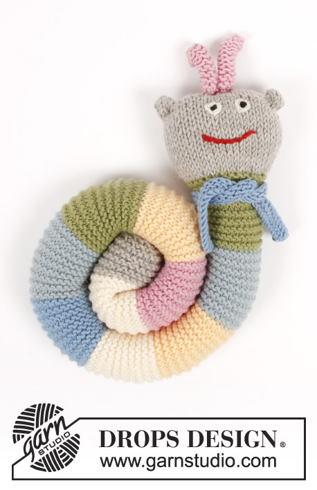 Arnie The Caterpillar Drops Children 30 23 Free Knitting