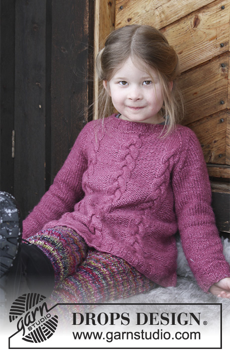 Ylva Drops Children 30 3 Free Knitting Patterns By