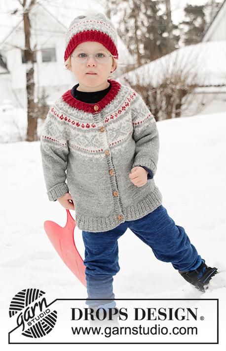 Narvik Jacket Drops Children 32 11 Free Knitting Patterns By