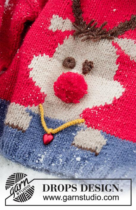 Red Nose Jumper Kids Drops Children 32 18 Modèles Tricot