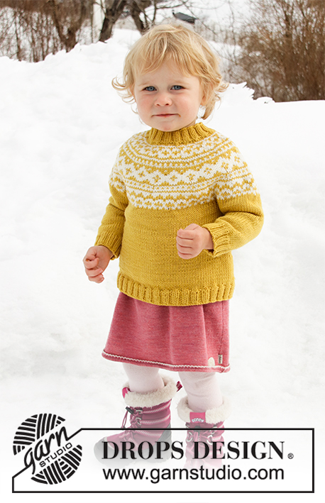 baee8c15a Little Missy   DROPS Children 32-7 - Free knitting patterns by DROPS ...