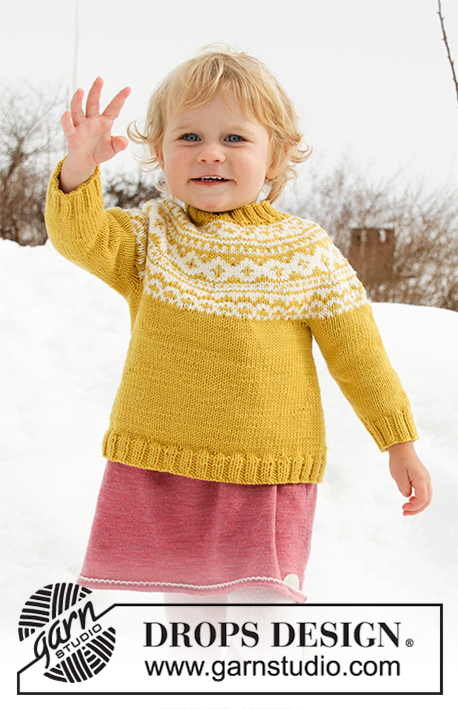 8dc3908f7452 Little Missy   DROPS Children 32-7 - Free knitting patterns by DROPS ...