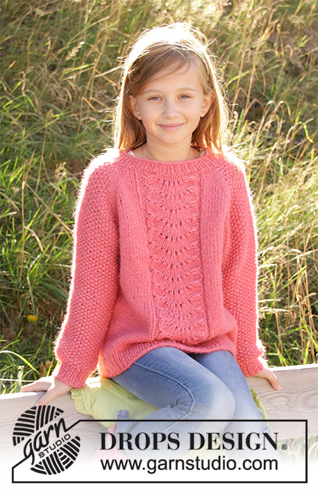 e88ed7a99806 Clover   DROPS Children 34-4 - Free knitting patterns by DROPS Design