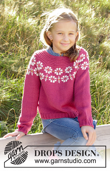 Daisy Delight Drops Children 34 7 Free Knitting Patterns By