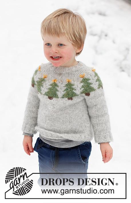 Merry Trees julegenser til barn