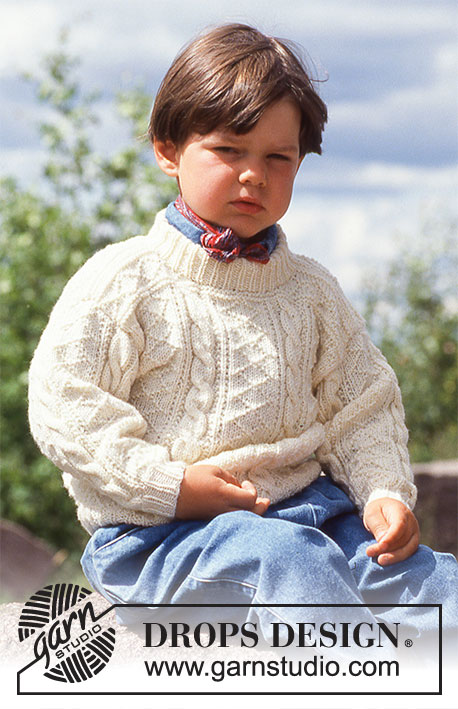 Fabian Drops Children 5 3 Free Knitting Patterns By Drops Design