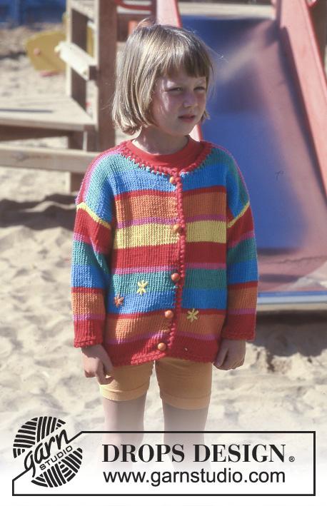 Beach Star Drops Children 8 1 Free Knitting Patterns By Drops Design