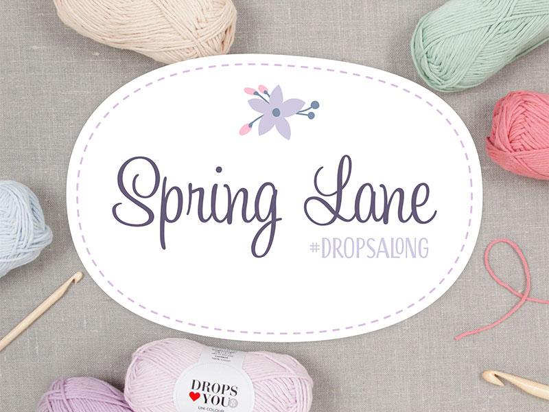 2017 kevad. DROPS Salajane teki koosheegeldamine (Spring Lane Crochet-Along) Dropsalong2