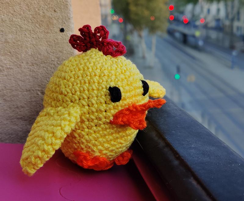 Delia the Duck Crochet Amigurumi Pattern – Shiny Happy World | 660x800