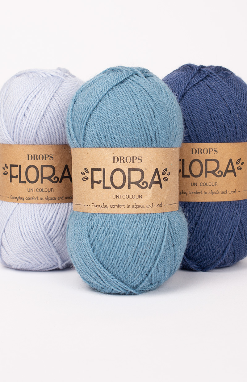Product image yarn Flora