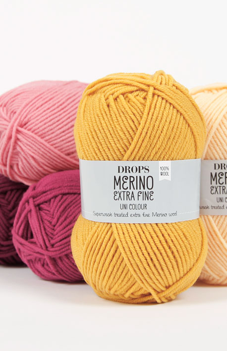 DROPS Merino Extra Fine - Superwash treated extra fine merino wool