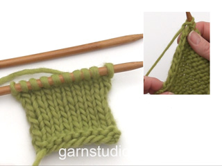 How To Knit Edge Stitches In Stockinette Stitch Tutorial Video