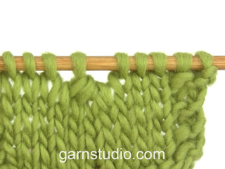 How to knit 4 stitches together (decrease) (Tutorial Video)