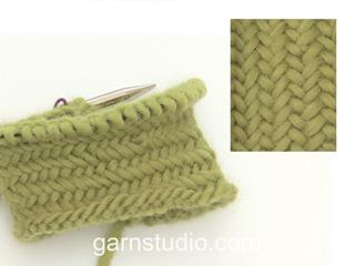 Pattern: Herringbone stitch in the round (Tutorial Video)