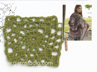 Crochet Jacket With Lace Pattern Tutorial Video