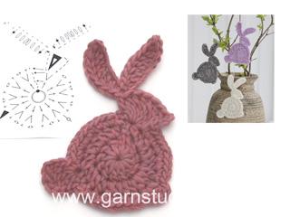 CANAL CROCHET: Conejo bicolor amigurumi tutorial | 240x320